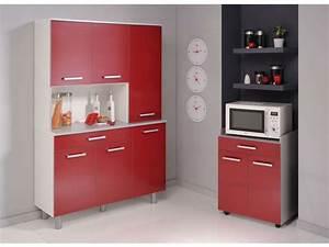 Conforama Meuble De Cuisine : buffet 120 cm cerise vente de buffet de cuisine conforama ~ Dailycaller-alerts.com Idées de Décoration