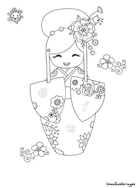 Japanese quilts image by Zara.goli on face   Kokeshi dolls