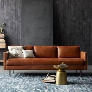 Braunes Sofa Welche Wandfarbe : ledersofas mit stil beliebte lederarten und eigenschaften ~ Watch28wear.com Haus und Dekorationen