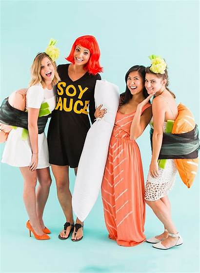 Halloween Costume Costumes Sushi Diy Friends Sydnestyle