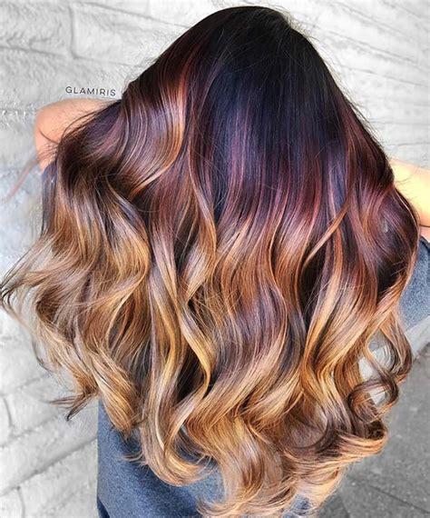 unique hair color ideas   stayglam