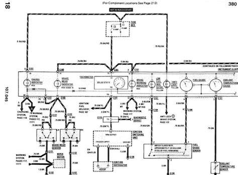 mercedes abs diagram