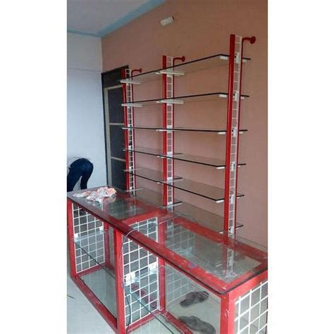 Glass Rack For Shop by Glass Wall Mounted General Store Display Rack Id