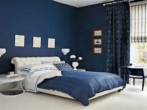royal blue painted bed room blue paint colors for