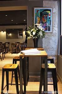 Cuisine Style Industriel Vintage : un restaurant parisien au style industriel maud rousset ~ Teatrodelosmanantiales.com Idées de Décoration