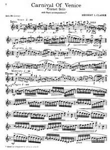 Carnival of Venice Trumpet Solo Sheet Music