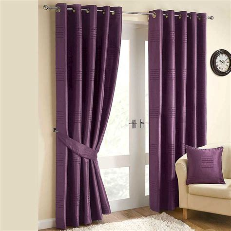 curtains living room with purple curtains ideas the 25