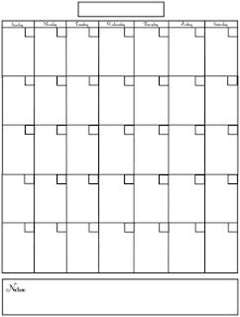 blank calendar printables printable planner blank