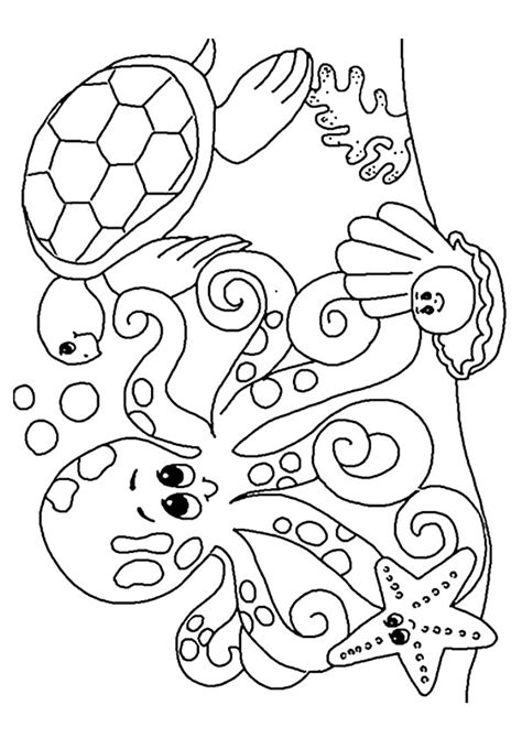 sea coloring pages coloringstar