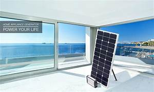 200w Small Home Solar Power System