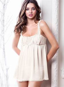 Victoria U0026 39 S Secret Sheer Babydoll In White  Ivory