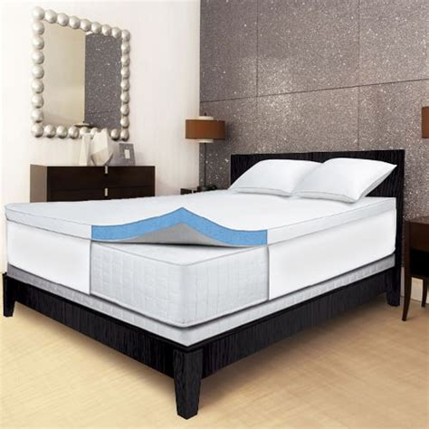 serta gel memory foam mattress topper serta 2 5 quot gel memory foam mattress topper cal king