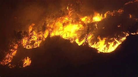 11,000-acre Creek Fire In Foothills Above Sylmar Forces