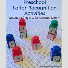 Preschool Letter Recognition Activities  Fun Activities, Legos And Activities
