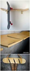 Longboards Billig Kaufen : coole wandhalterung f r longboards oder skateboards die halterung besteht selbst aus einem ~ Eleganceandgraceweddings.com Haus und Dekorationen