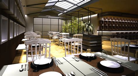 concept d architecture d int 233 rieur d un restaurant napol 233 on