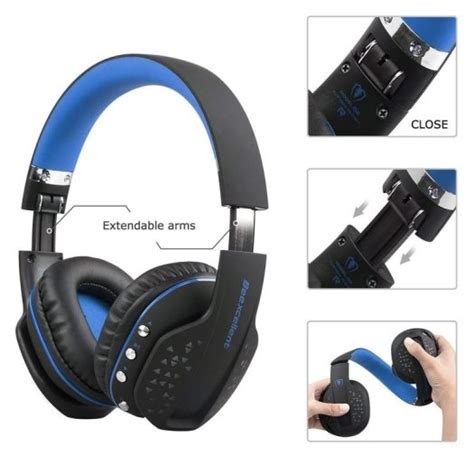 wireless gaming headset stereo headphones wmic cool