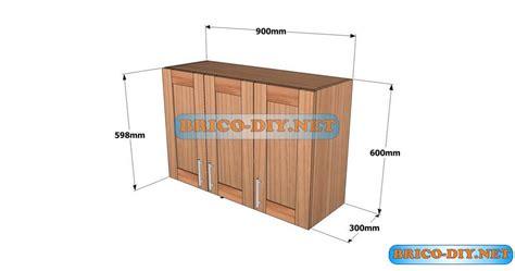 planos detallados  hacer  mueble alto de cocina de