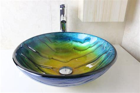 Bathroom Wash Sink Wash Basin Glass Bowl Glass Sink