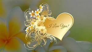 Flower, I, Love, You, Wallpaper