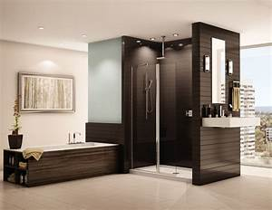 Shower screen using a european walk in shower design for Longueur douche italienne sans porte
