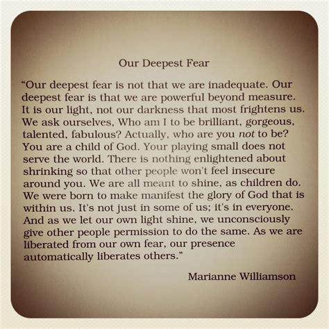 essays  fear