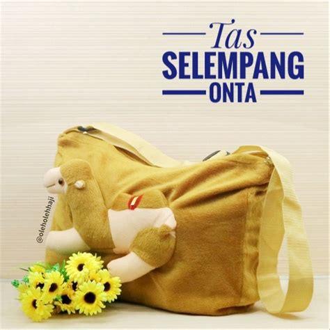 jual tas selempang sling bag boneka onta unta unik lucu murah souvenir oleh oleh haji dan umroh