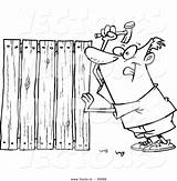 Coloring Fence Wood Pages Lumber Cartoon Picket Woods Fencer Drawing Boards Drawings Nailing Vector Getdrawings Printable Designlooter Getcolorings 1044px 49kb sketch template