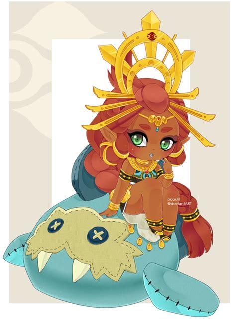 Legend Of Zelda Botw Wallpaper Botw Queen Riju By Popuki On Deviantart