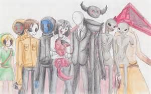 Creepypasta Characters Drawings