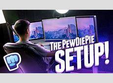 THE ULTIMATE YOUTUBE SETUP! PewDiePie Setup Tour YouTube
