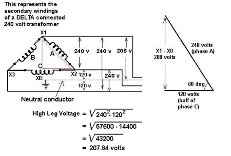 208 V 240 Wiring Diagram by What Type Of Transformer Is Required To Step The 240v