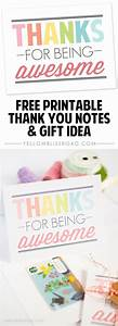 Free Printable Thank You Notes | Gifts, Note and Awesome