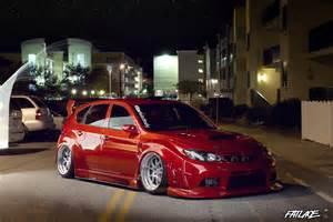 Stanced Subaru WRX STI