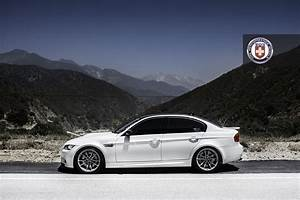 Bmw E90 M3 On Battleship Grey Hre Wheels