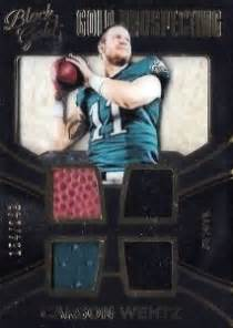 panini black gold football checklist set info boxes