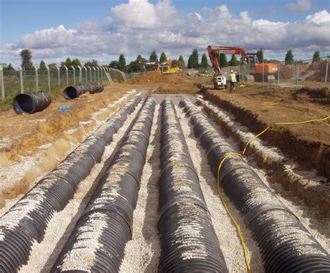 Ridgidrain Hdpe Twin-wall Surface Drainage Pipe