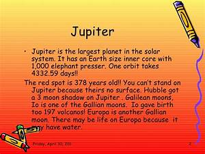 Poems About Jupiter the Planet (page 3) - Pics about space