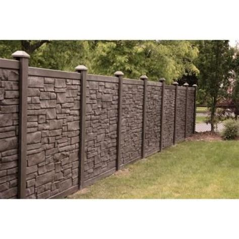 outdoor appealing home depot fencing   yard