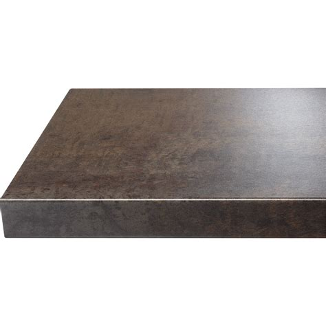 plan de travail cuisine stratifié leroy merlin chant de plan de travail stratifié effet cuivre mat l 500