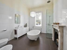 classic bathroom design with freestanding bath using ceramic bathroom photo 764080