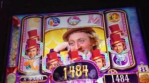 Willy Wonka - WMS Slot Machine Bonus *Wonka Spins* - YouTube