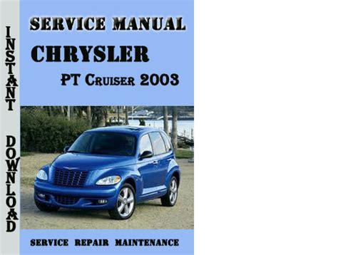 free online car repair manuals download 2004 chrysler crossfire head up display chrysler pt cruiser 2003 service manual download manuals te