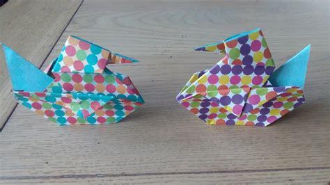 origami le canard the duck par alexandre 6 ans my