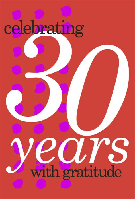 30 Year Anniversary Clipart  Clipart Suggest