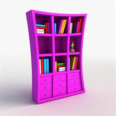 Cartoon Bookshelf Hq