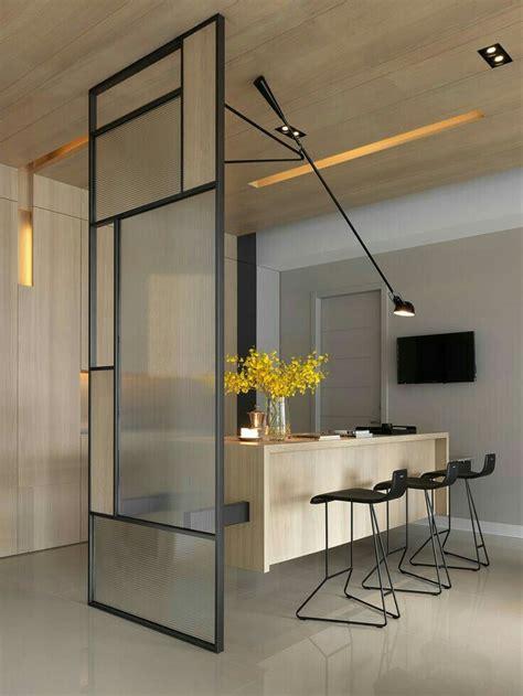 office reception minimalism interior room design house