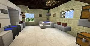 petit belle salle de bain minecraft idees de design With salle a manger minecraft