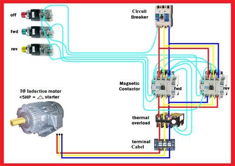 Motor Forward Reverse Wiring Diagram Elec Eng World