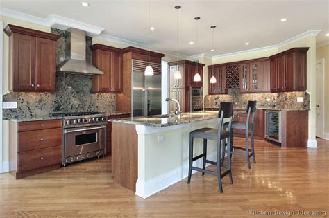 kitchen paint colors with medium cherry cabinets pictures of kitchens traditional medium wood kitchens